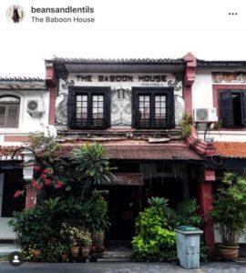 THE BABOON HOUSE
