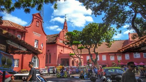 荷兰红屋&荷兰广场 Stadthuys