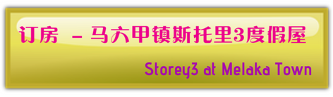 Storey3 at Melaka Town马六甲镇斯托里3度假屋