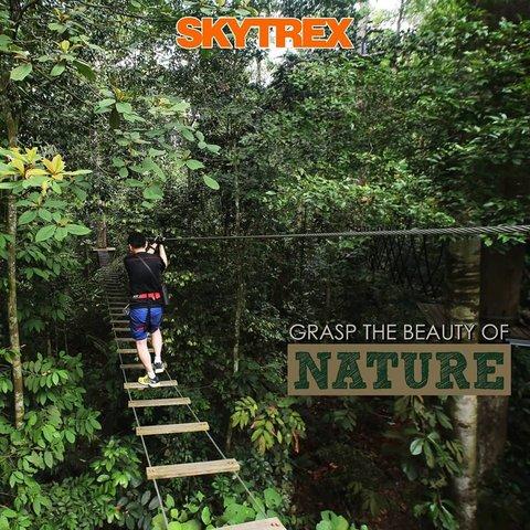 马六甲冒险乐园 Skytrex Adventure Melaka