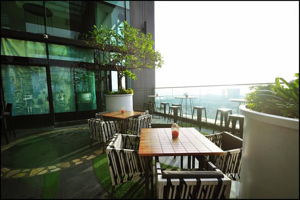 马六甲空中餐厅和酒吧Pampas