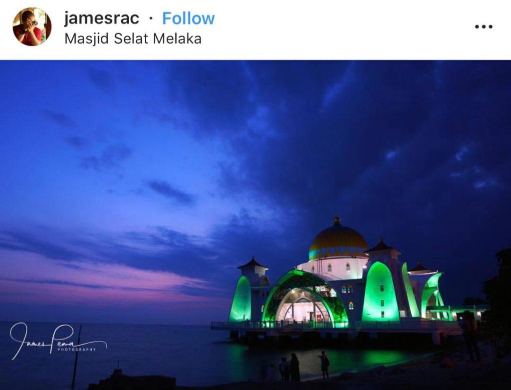 马六甲海峡清真寺 Masjid Selat Melaka